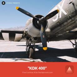 Free Luminar Ai Template KDK 400 Preset Stockpresets.com