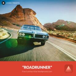 Free Luminar Look Roadrunner Preset Stockpresets.com