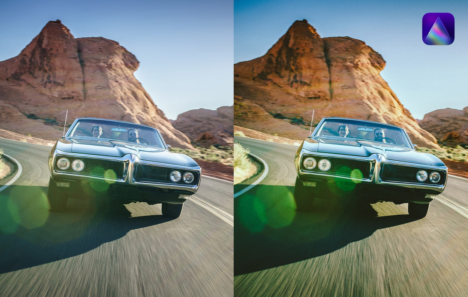Free-Luminar-Ai-Template-Roadrunner-before-and-After-Stockpresets.com