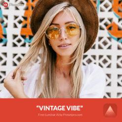 Free Luminar Ai Template Vintage Vibe Preset Presetpro.com