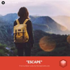 Free Luminar Look Escape Stockpresets.com