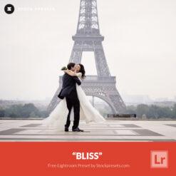 Free Lightroom Preset Bliss Stockpresets.com