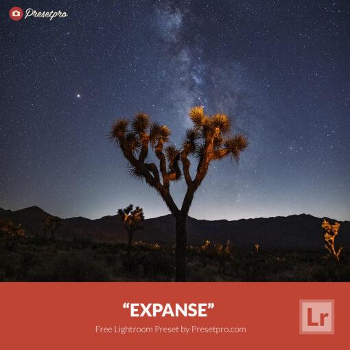 Free Lightroom Preset Expanse Presetpro.com