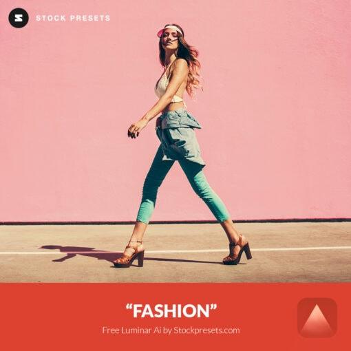 Free Luminar Ai Template Fashion Preset Stockpresets.com