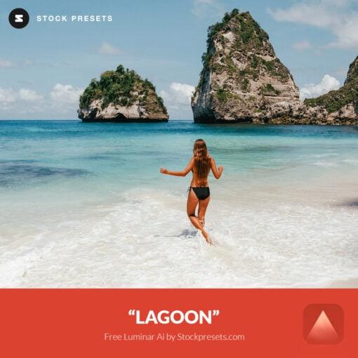 Free Luminar Ai Template Lagoon Preset Stockpresets.com