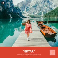 Free LUT Lookup Table Ektar Film Emulation Stockpresets.com