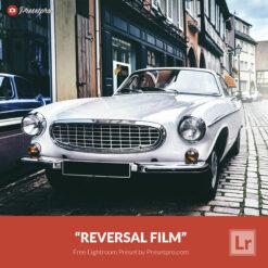 Free Lightroom Preset and Lightroom Profile Reversal Film Preset