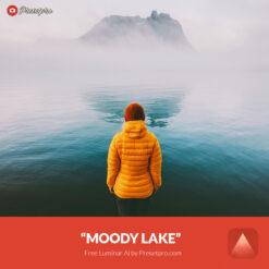 Free Luminar Ai Template Moody Lake Preset Presetpro.com