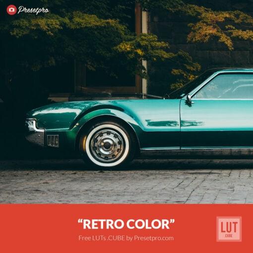 Free LUT Retro Color Lookup Table Presetpro.com