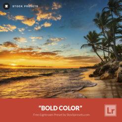 Free Lightroom Preset and Profile Bold Color Stockpresets.com