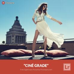 Free Lightroom Preset Cine Grade Presetpro.com