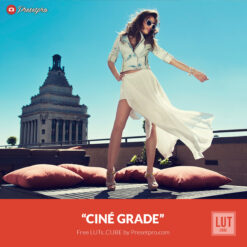 Free LUT Ciné Grade Lookup Table Presetpro.com