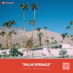 Free LUT Palm Springs Lookup Table Presetpro.com