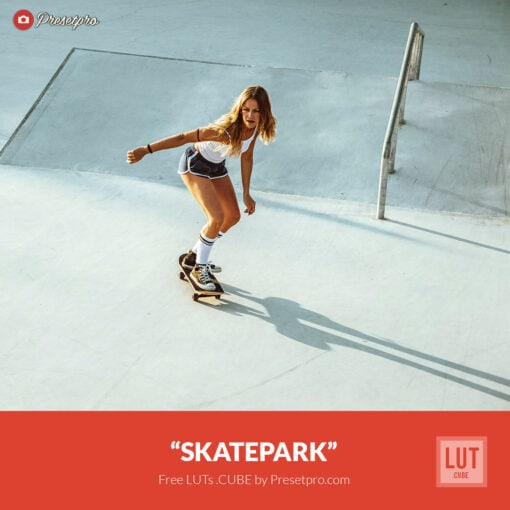Free LUT Skatepark Lookup Table Presetpro.com