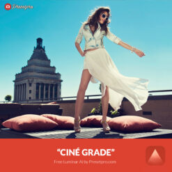 Free Luminar Ai Template Cine Grade Preset Presetpro.com