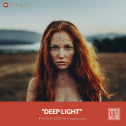 Free LUT Deep Light Lake Lookup Table Presetpro.com