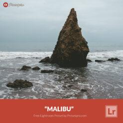 Free Lightroom Preset Malibu Presetpro.com