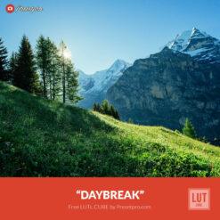 Free LUT Daybreak Lookup Table Presetpro.com
