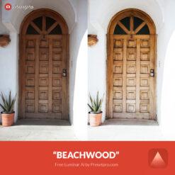 Free Luminar Ai Template Beachwood Preset Presetpro.com