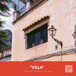 Free LUT Villa Lookup Table Presetpro.com