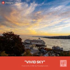 Free LUT Vivid Sky Lookup Table Presetpro.com